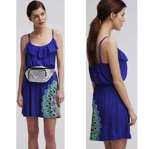 Desigual Olga Royal Blue Dress